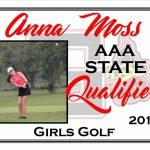 Congrats Anna Moss!