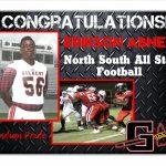 Good Luck Big E at North South!