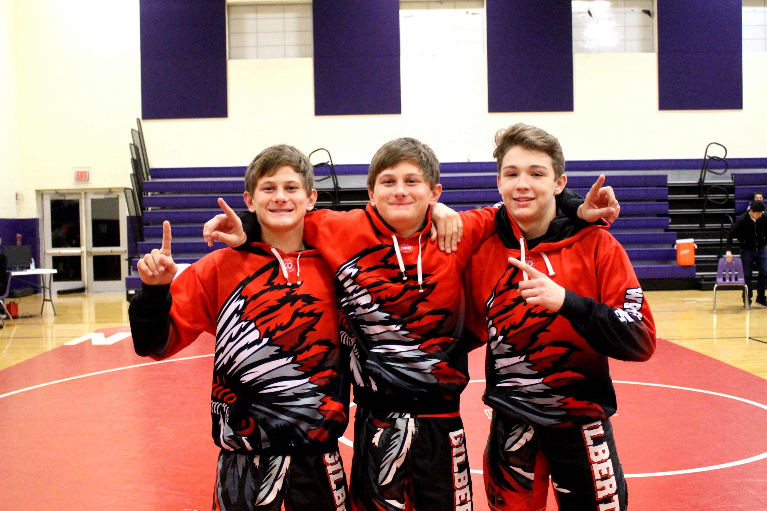 Wrestling Triple Threat AGAIN AAA Lower State Champions