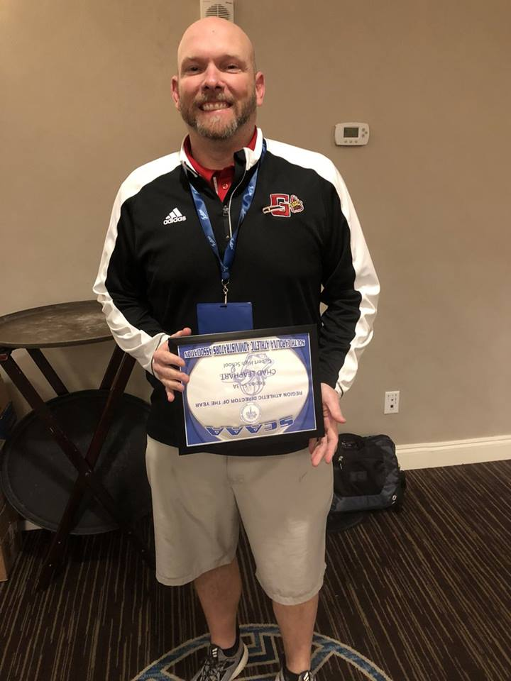 Coach Leaphart 5-AAA AD of the Year
