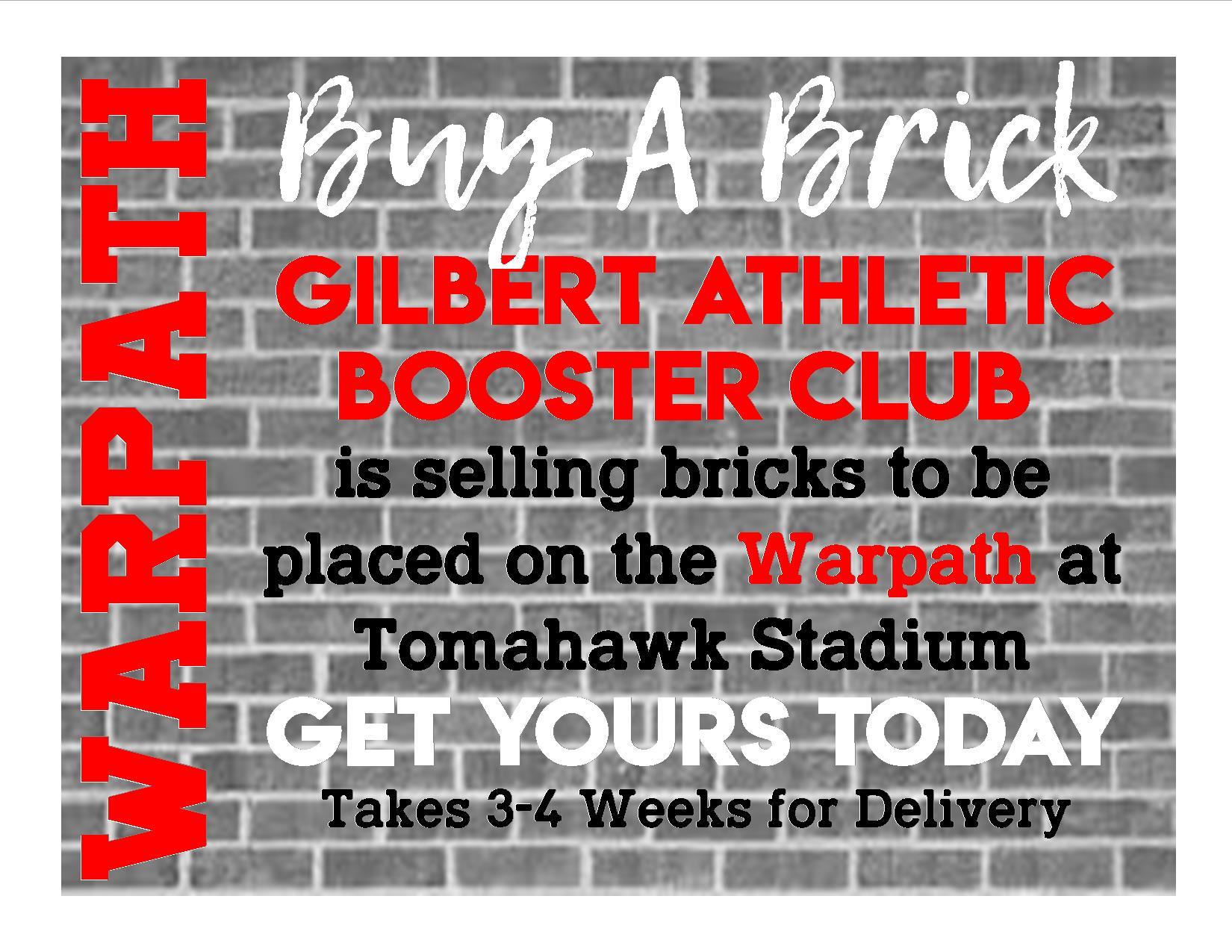 Buy a Brick!!!