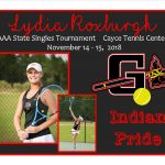 Lydia Roxburgh AAA State Singles