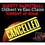 Varsity Basketball Cancelled