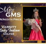 Meredith Price 2019 Miss GMS