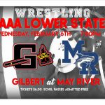 Wrestling advances to Lower State!  First Time in School History!