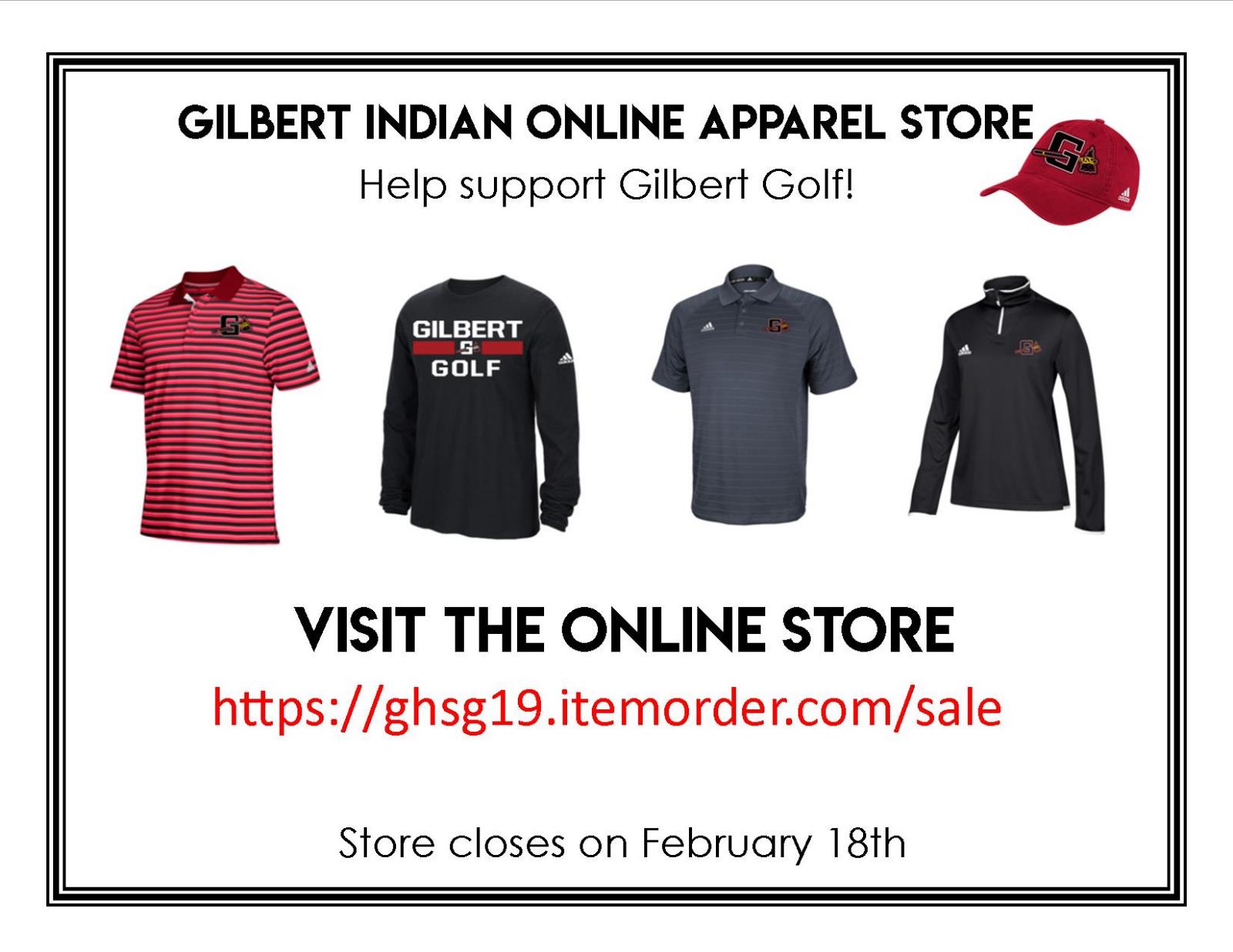 Support Gilbert Golf!