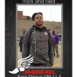 Darrius Bell New School Record Boys Discus