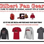 Order your Gilbert Gear Today!