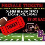 PreSale Tickets!