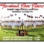 Tomahawk Cheer Classic on Wednesday!