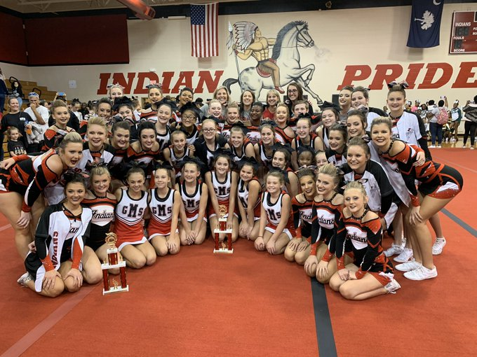 Congratulations to GMS and GHS Competitive Cheer!