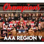 Volleyball AAA Region V Champions