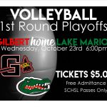 Volleyball Hosts 1st Round Wednesday