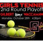 Girls Tennis 2nd Round Playoffs HOME Monday