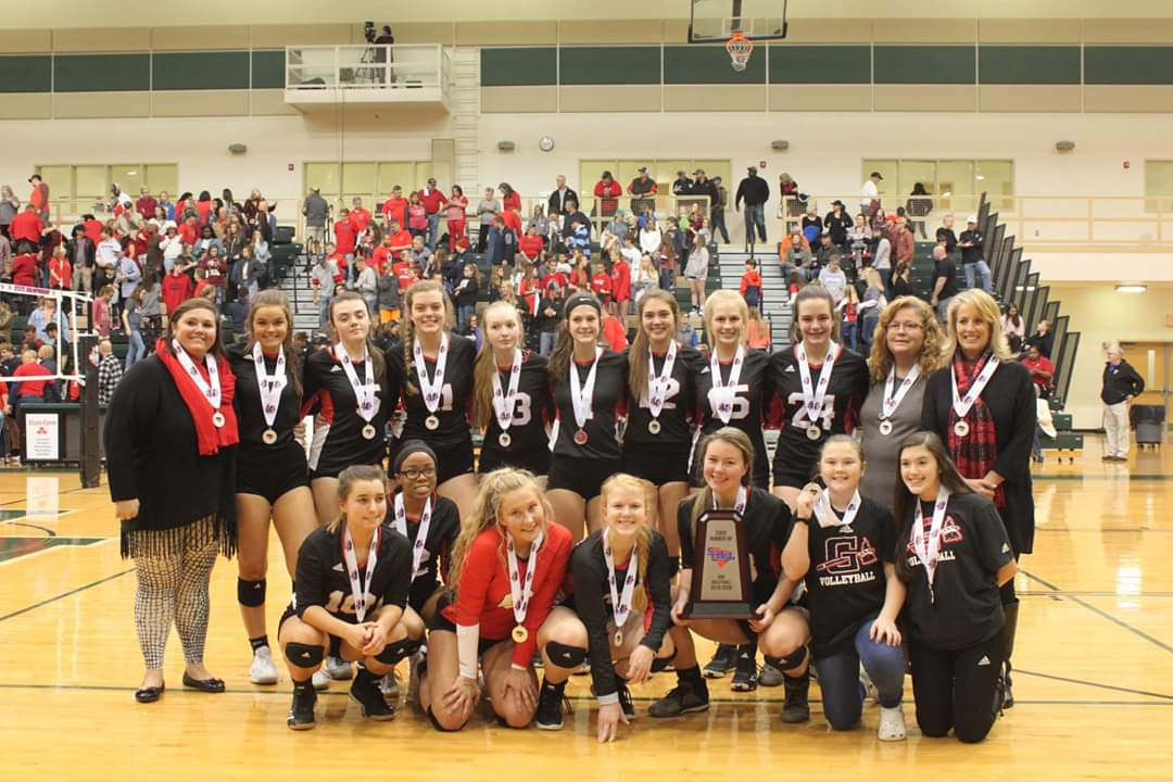 Lady Indians AAA 2019 State Runnerup
