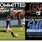 Congrats to Kaylee Barnes