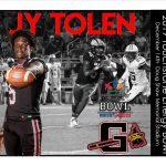 Congratulations Jy Tolen!