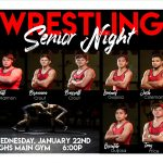 Wrestling Senior Night Wednesday