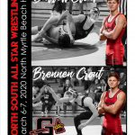 Barrett Crout and Brennen Crout North South All Star Wrestlers