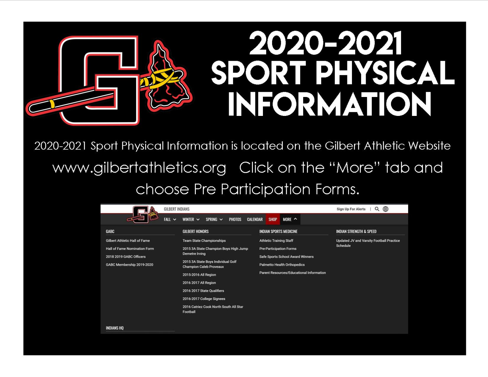 2020-2021 Sport Physical Information