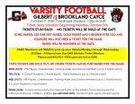 Gilbert vs Brookland Cayce Ticket Information