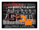 Volleyball AAA Region V Play-in Match
