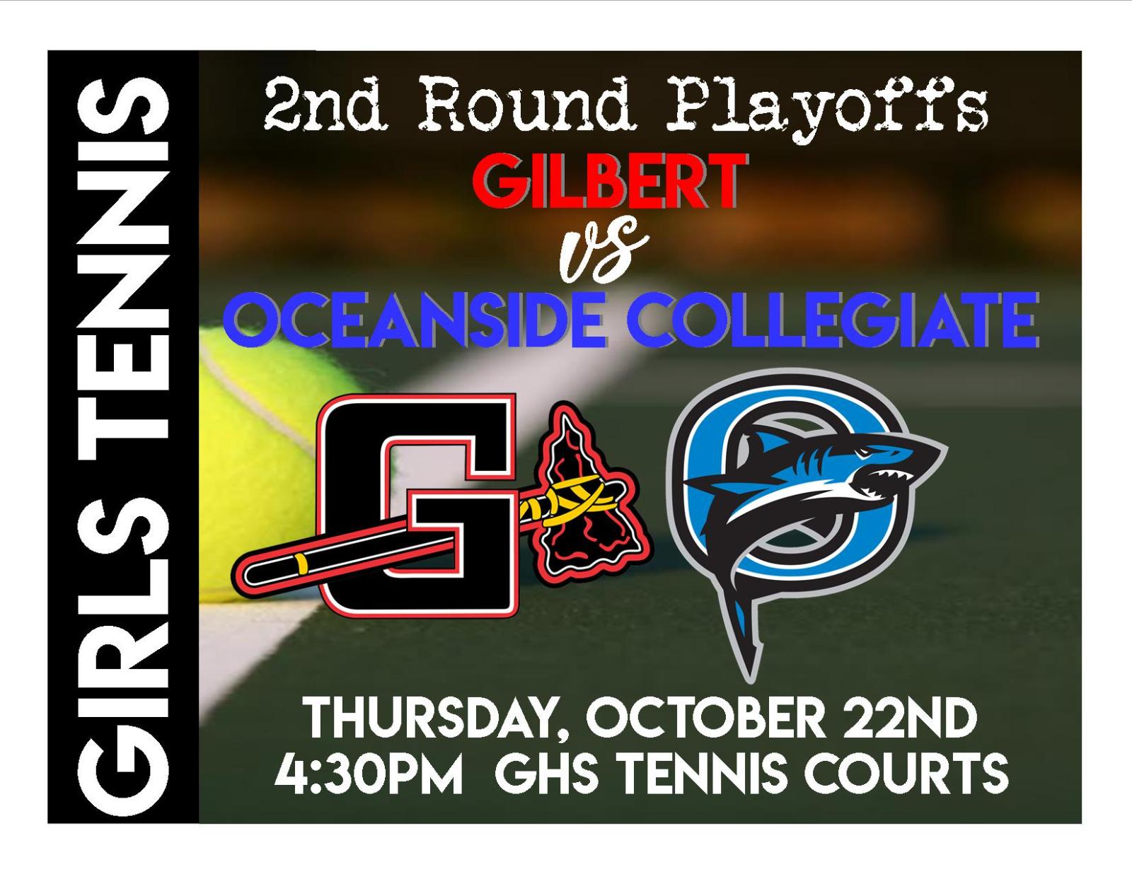 Girls Tennis HOSTS Oceanside Collegiate
