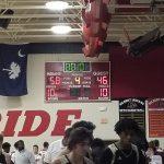 Boys Varsity Basketball beats Pelion 58 – 46