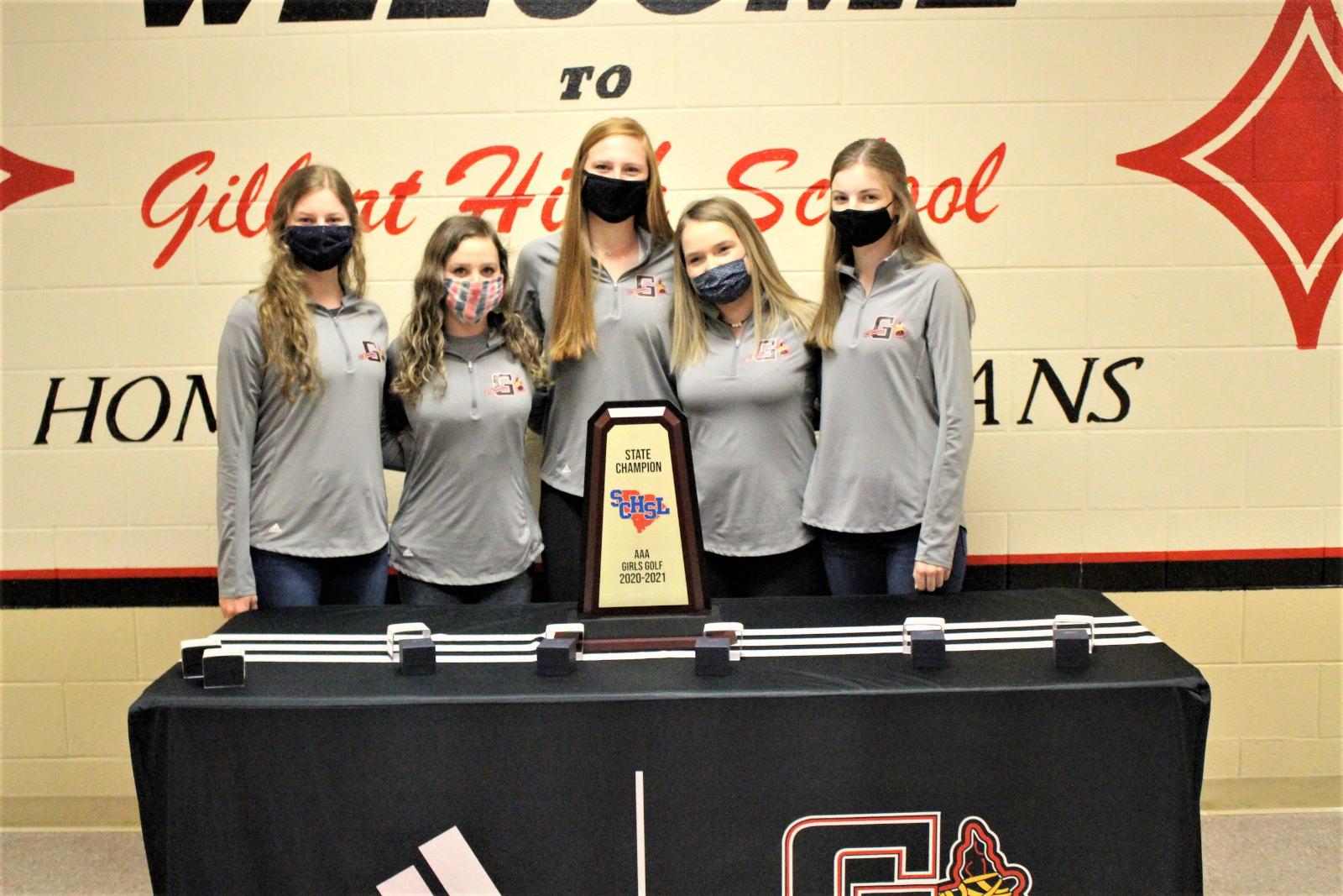 State Champions received their Rings!!!!!