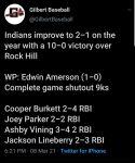 Example Boys Varsity Baseball beats Rock Hill 10 – 0