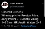 Boys Varsity Baseball beats Dreher 8 – 5