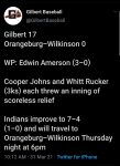 Boys Varsity Baseball beats Orangeburg-Wilkinson 17 – 0