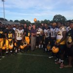 Greenwood Football Donates over $700 to American Cancer Society