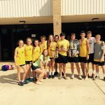 Greenwood High School Girls Varsity Cross Country finishes 1st place
