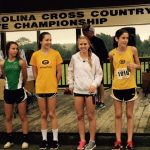 Anna Kathyrn Stoddard & Shelby Seymour Place at State Cross Country Meet