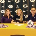 Courtney Hoffman Signs to Play Volleyball at Furman.