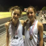 Greenwood High School Girls Varsity Track finishes 4th place