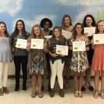 2017 Girls Golf Awards Presented