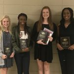 Volleyball Awards Presented