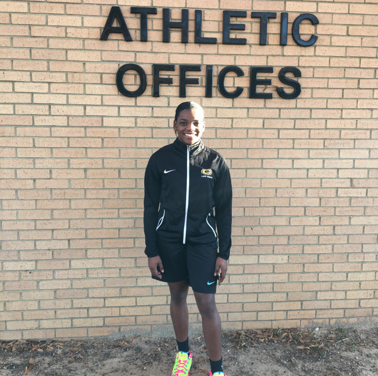 Christina Moton 1st Student-Athlete of the Week