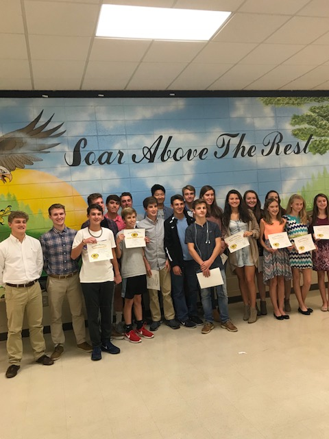 2017 Cross Country Awards Presented