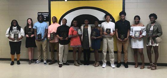 2018 Girls & Boys Basketball Awards Presented
