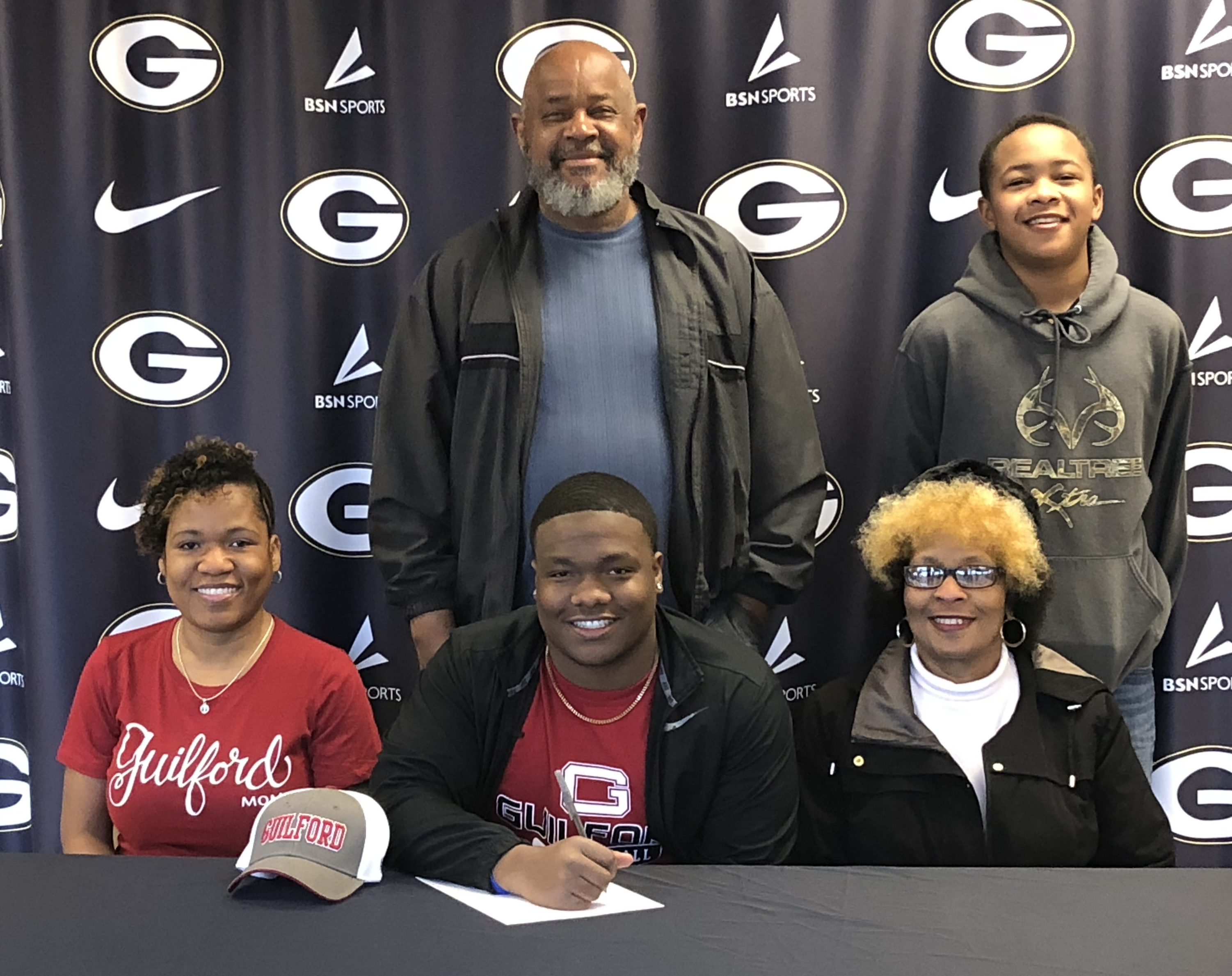Isaiah Jeffery Signs Letter of Intent with Guilford College