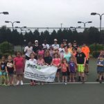 Boys and Girls Tennis Teams Support Greenwood Area Tennis Association