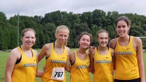 Cross Country at the Chuck Parker Relays