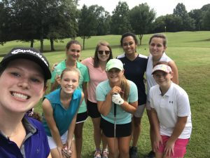 Girls Golf First Practice of 2018 (8-20-18)