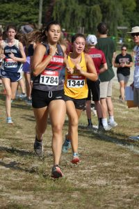 Girls Cross Country at Coaches Classic