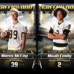 Niess McCoy & Noah Emily – Part of GHS Football History