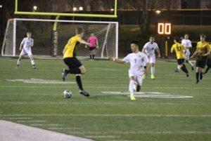 Varsity Boys Soccer vs Wren 2-26-19