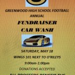 GHS Football Annual Car Wash Fundraiser for Greenwood Cancer Fund